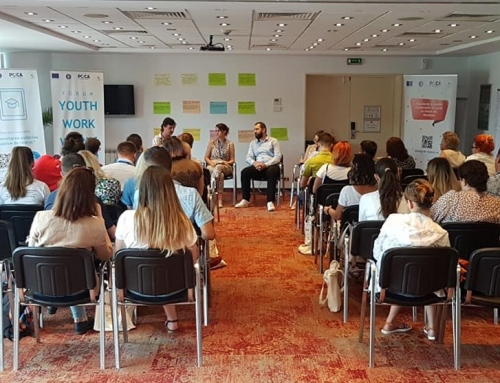 """Conferinta de inchidere a proiectului """" Standarde și politici publice sustenabile în lucrul cu tinerii din România"""""""