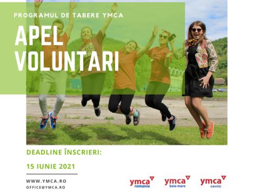 Apel voluntari pentru programele de tabără din vara anului 2021!