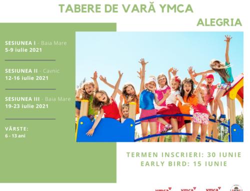 Alegria! TABERE DE VARĂ LA YMCA !